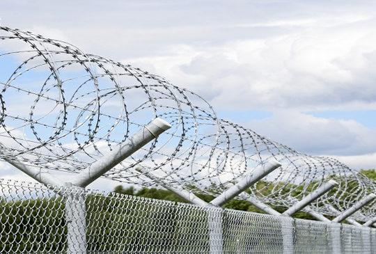 Concertina-Wire-Fencing