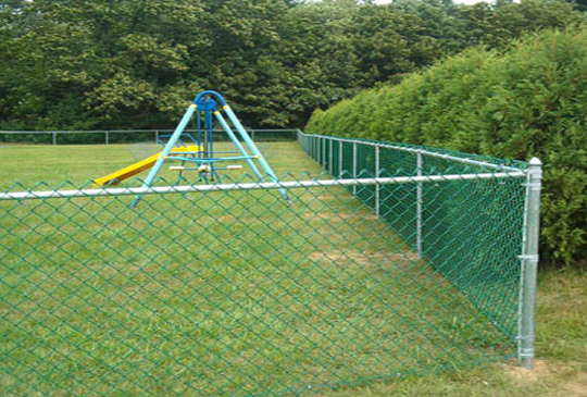 PVC-Chain-Link-Fencing